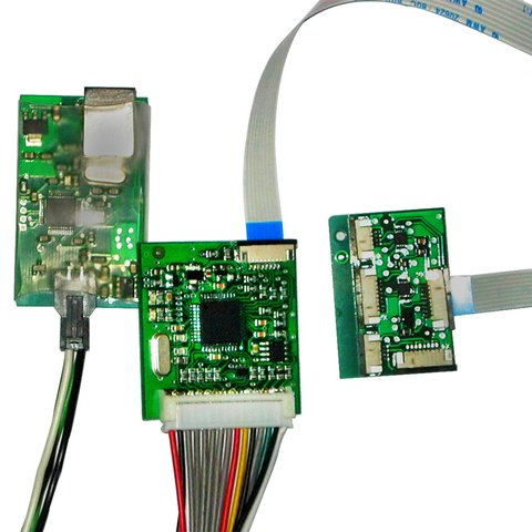 Мультифункциональный универсальный контроллер сенсорного стекла TSC-208IM Превью 3