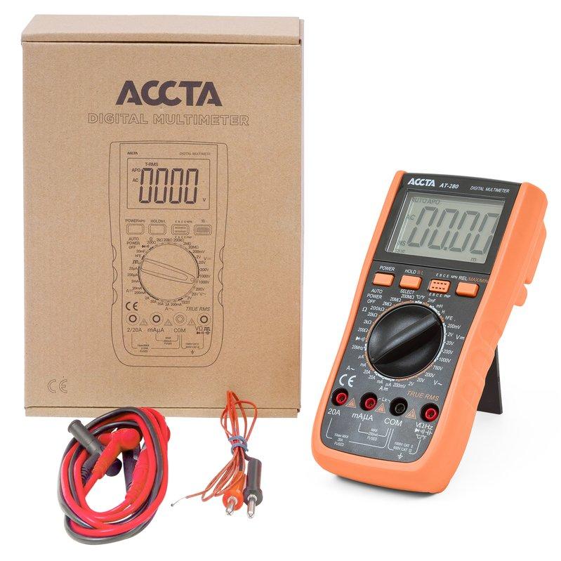 Цифровий мультиметр Accta AT-280 Зображення 2