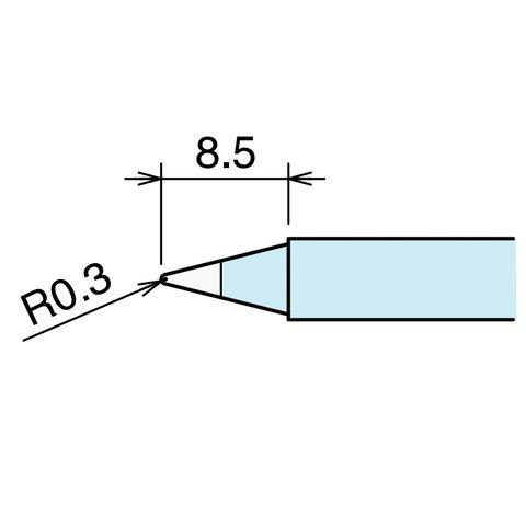 Паяльне жало GOOT RX-80HRT-B Прев'ю 1