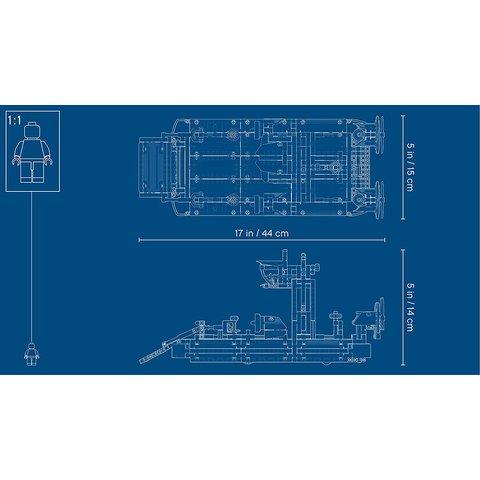 Конструктор LEGO Technic Аппарат на воздушной подушке 42076