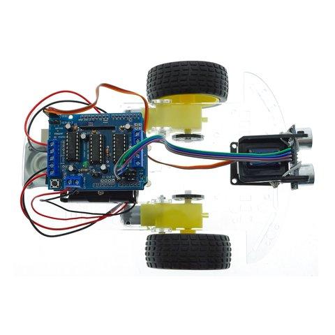 Конструктор Arduino Робомашинка з давачем (датчиком) для оминання перешкод + посібник користувача Прев'ю 4