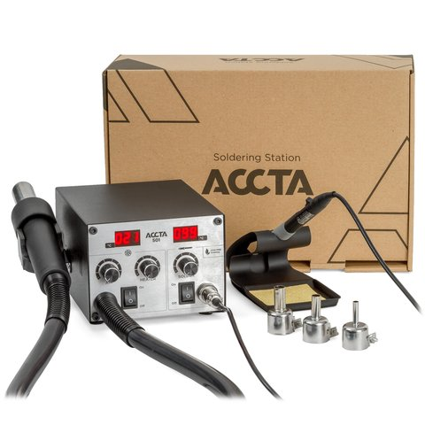 Hot Air Rework Station Accta 501 Preview 2
